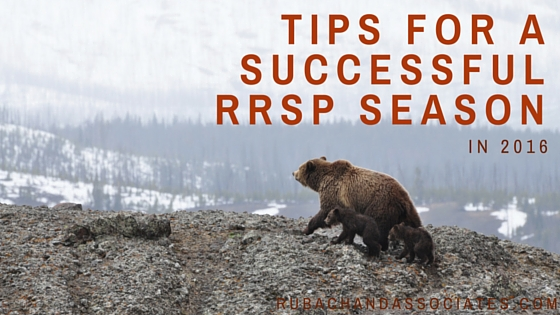 Tips for a Successful RRSP Season in 2016