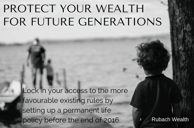 Permanent Life Insurance for future generations
