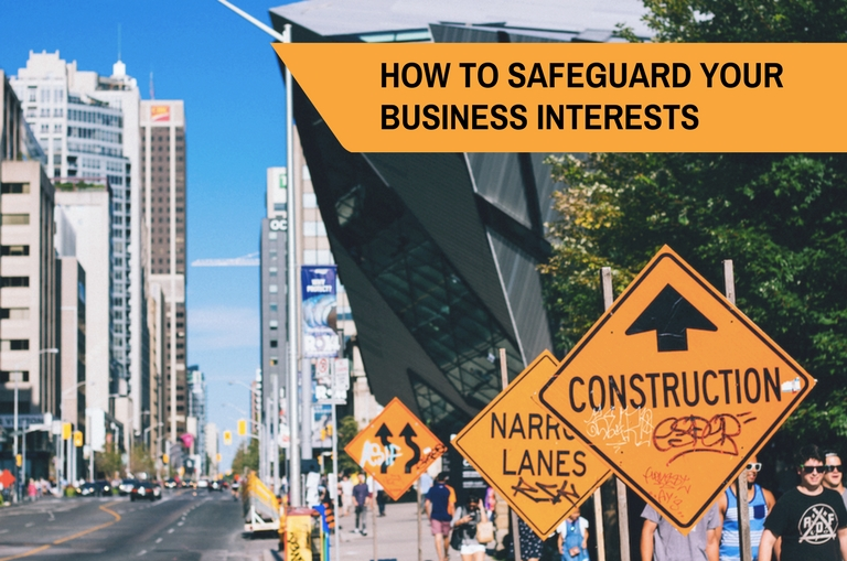 How to safeguard your business interests